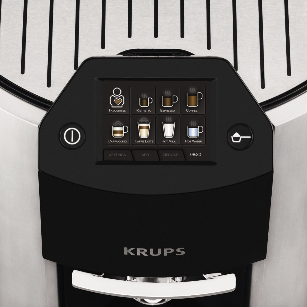 KRUPS EA9000 Barista Full Automatic One Touch Cappuccino Machine with Automatic Rinsing and KRUPS Two-Step Frothing Technology_