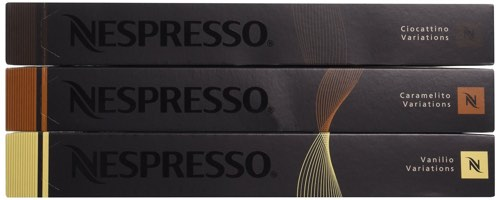 Nespresso- Sweet Flavors Pack